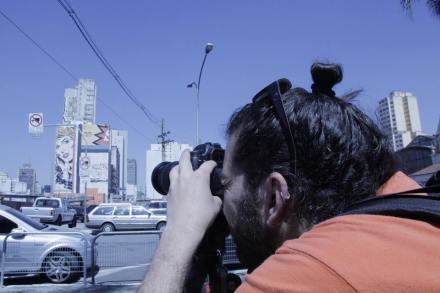 Peu Pereira, um dos diretores do documentário. (Foto: João Claudio de Sena)